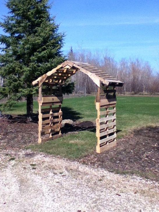 Genius DIY Projects Pallet For Garden Design Ideas 17