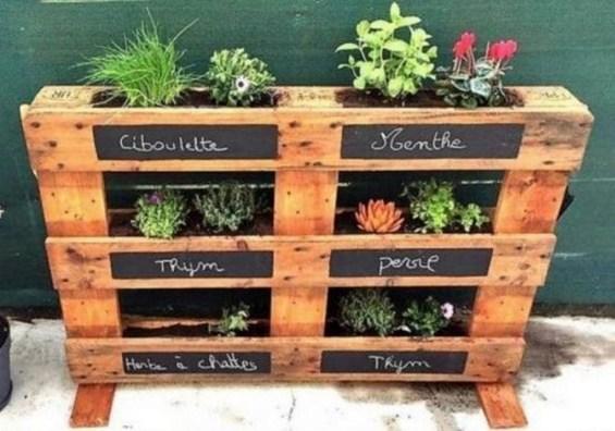Genius DIY Projects Pallet For Garden Design Ideas 34