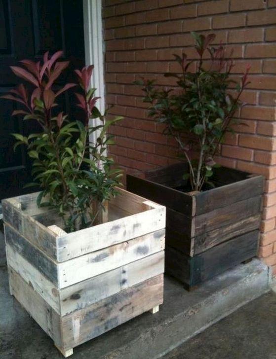 Genius DIY Projects Pallet For Garden Design Ideas 45
