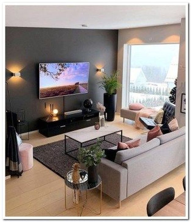 Impressive Small Living Room Ideas For Apartment 12