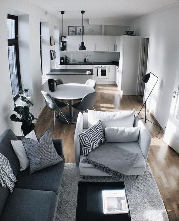 Impressive Small Living Room Ideas For Apartment 34