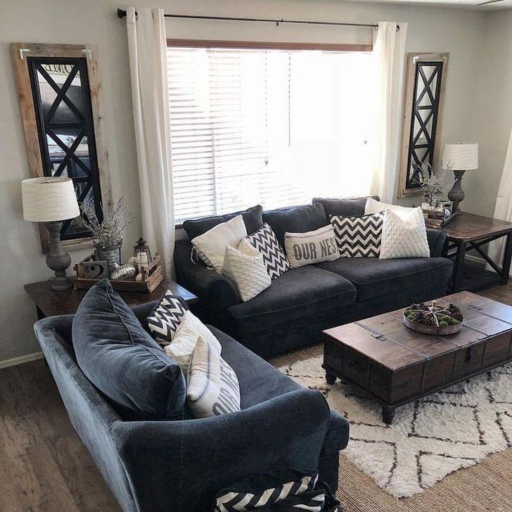 Impressive Small Living Room Ideas For Apartment 46