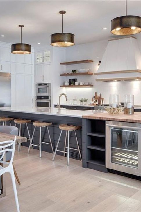 Inspiring Open Concept Kitchen You'll Totally Love 17