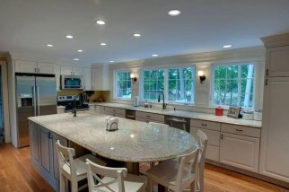 Marvelous Kitchen Island Ideas With Seating For Kitchen Design 18