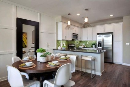 Minimalst Open Concept Kitchen And Dining Room Design Ideas 01
