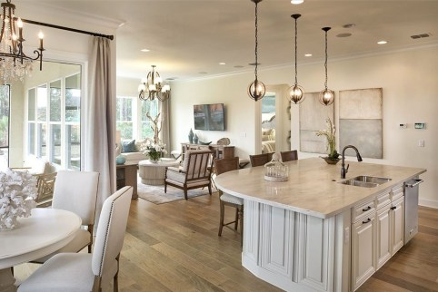 Minimalst Open Concept Kitchen And Dining Room Design Ideas 43