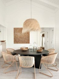 Modern Round Dining Table Design Ideas For Inspiration 04