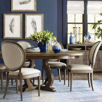 Modern Round Dining Table Design Ideas For Inspiration 06