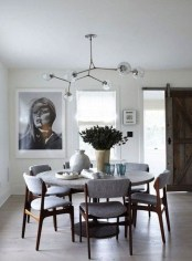 Modern Round Dining Table Design Ideas For Inspiration 11