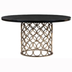 Modern Round Dining Table Design Ideas For Inspiration 14