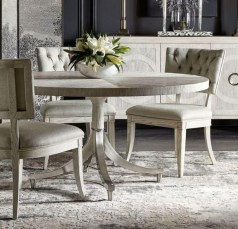 Modern Round Dining Table Design Ideas For Inspiration 44