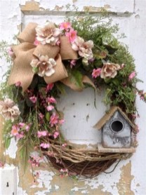 Most Popular DIY Summer Wreath You Will Totally Love 23