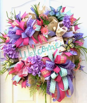 Most Popular DIY Summer Wreath You Will Totally Love 24