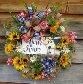 Most Popular DIY Summer Wreath You Will Totally Love 32