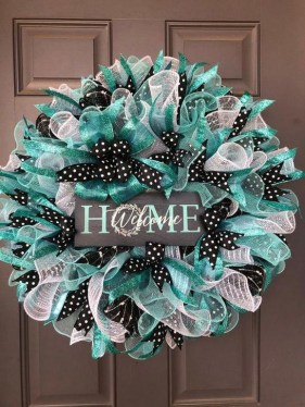 Most Popular DIY Summer Wreath You Will Totally Love 33