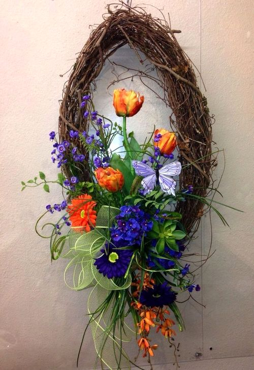 Most Popular DIY Summer Wreath You Will Totally Love 47
