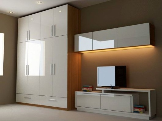 Popular Wardrobe Design Ideas In Your Bedroom 32
