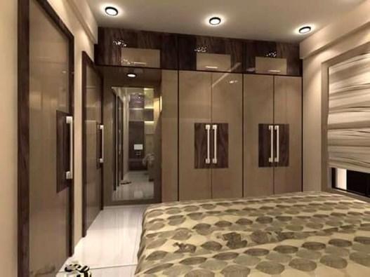 Popular Wardrobe Design Ideas In Your Bedroom 42