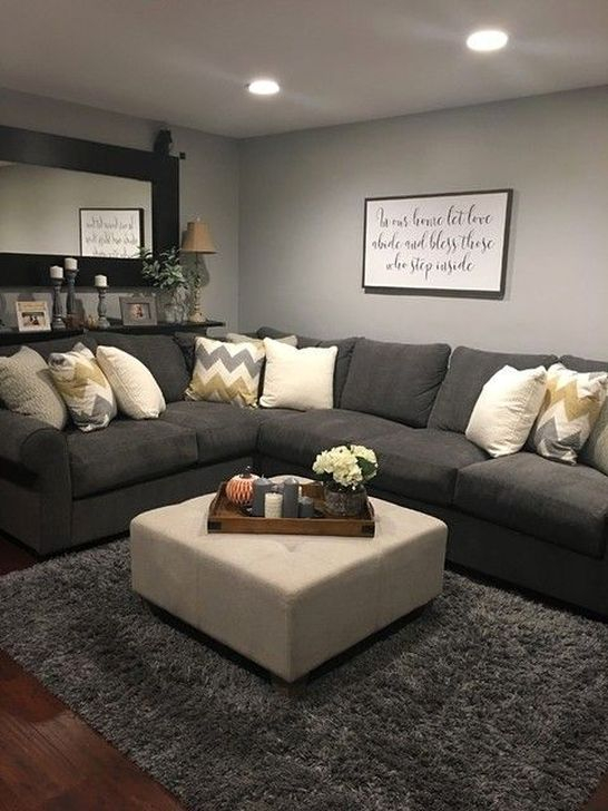 54 Small And Cozy Living Room Design Ideas To Copy - HOMYSTYLE on Small Living Room Ideas 2019  id=19786