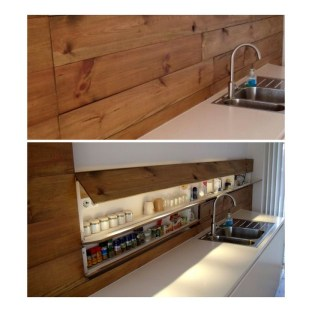 Smart Hidden Storage Ideas For Kitchen Decor 03