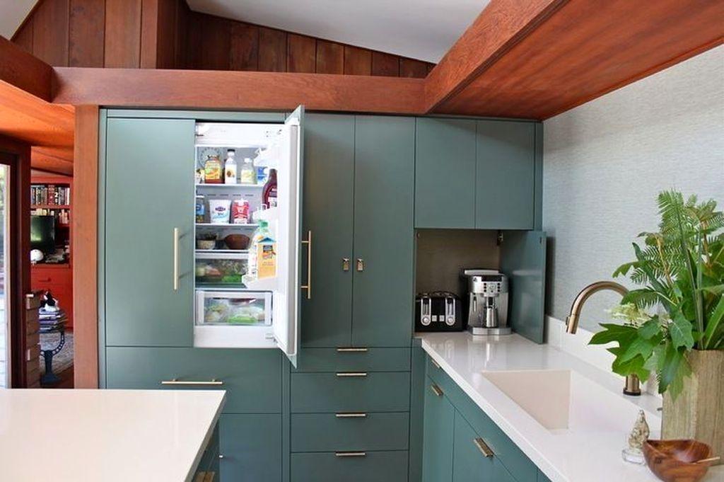 Smart Hidden Storage Ideas For Kitchen Decor 21