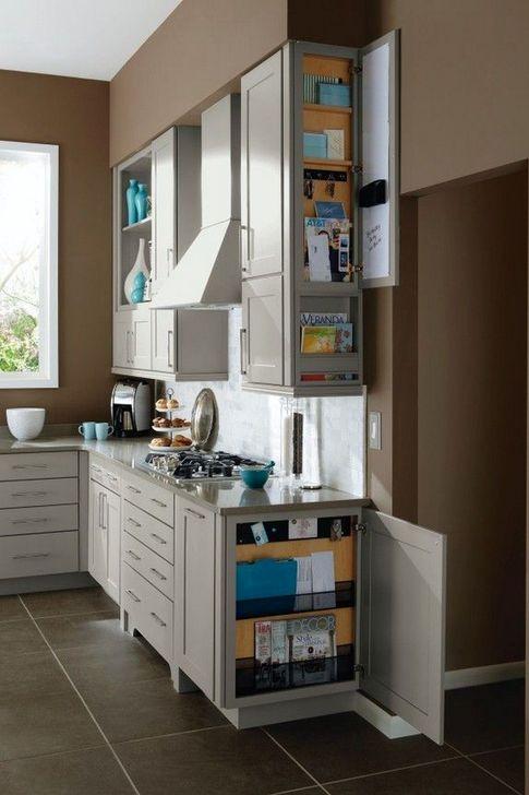 Smart Hidden Storage Ideas For Kitchen Decor 27