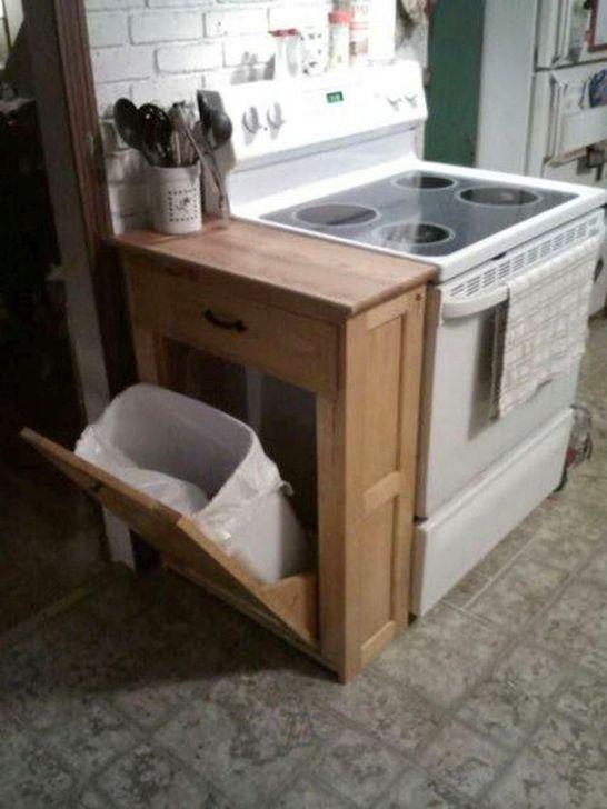 Smart Hidden Storage Ideas For Kitchen Decor 36