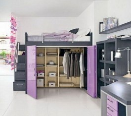 Stunning Desk Design Ideas For Kids Bedroom 05