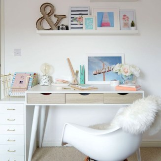 Stunning Desk Design Ideas For Kids Bedroom 08