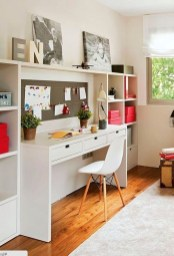 Stunning Desk Design Ideas For Kids Bedroom 11