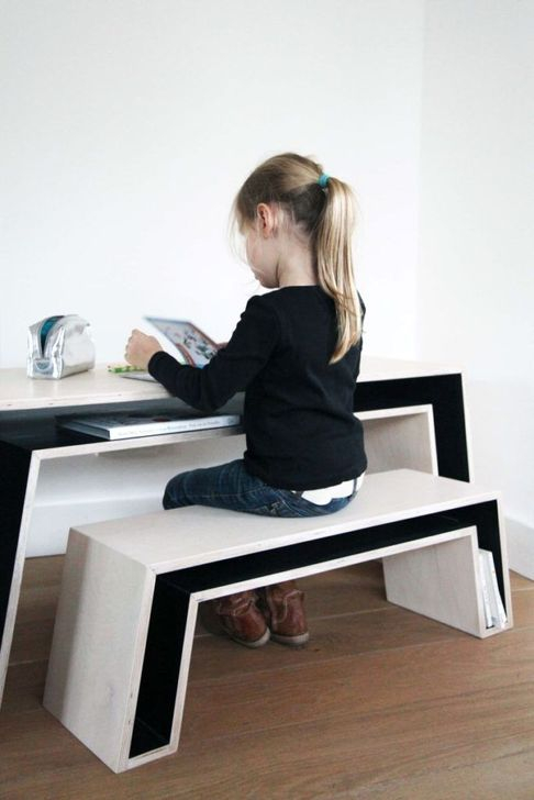 Stunning Desk Design Ideas For Kids Bedroom 18