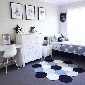 Stunning Desk Design Ideas For Kids Bedroom 48