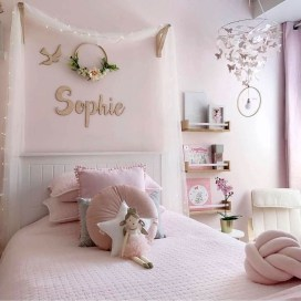 Totally Inspiring Bedroom Decor Ideas For Baby Girls 20