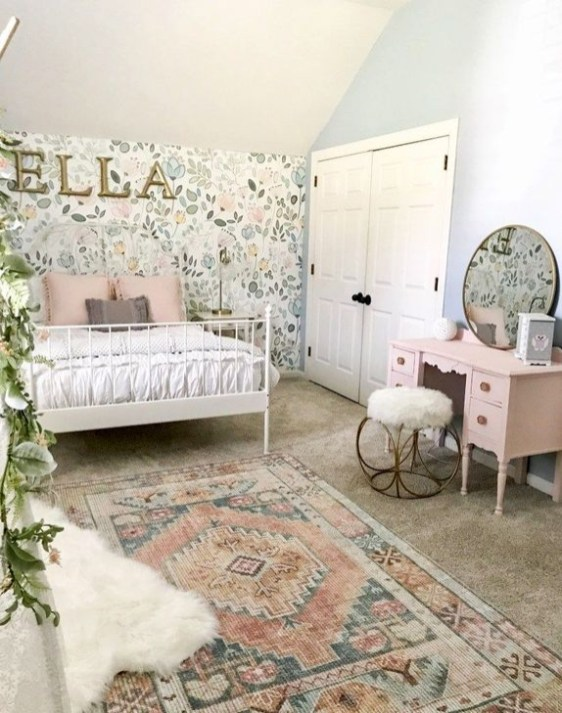 Totally Inspiring Bedroom Decor Ideas For Baby Girls 50