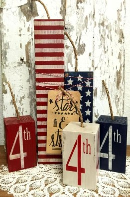 Unique Farmhouse Fourth July Decor Ideas That Inspire You 24