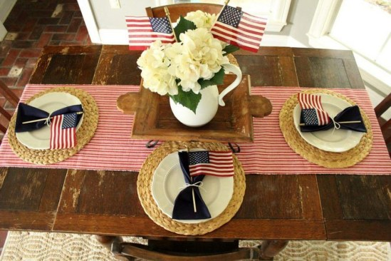 Unique Farmhouse Fourth July Decor Ideas That Inspire You 35