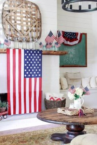 Unique Farmhouse Fourth July Decor Ideas That Inspire You 39