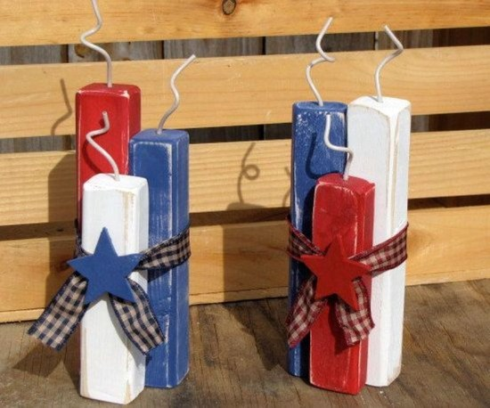 Unique Farmhouse Fourth July Decor Ideas That Inspire You 45