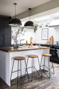 Attractive Kitchen Design Ideas With Industrial Style 03