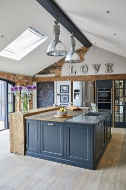 Attractive Kitchen Design Ideas With Industrial Style 06