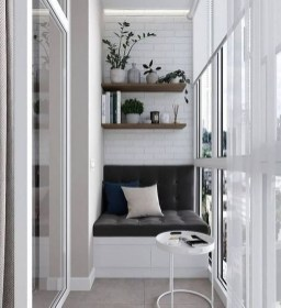 Awesome Small Balcony Ideas To Make Your Apartment Look Great 29