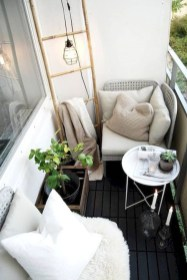 Awesome Small Balcony Ideas To Make Your Apartment Look Great 30