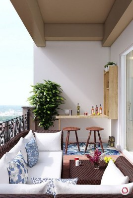 Awesome Small Balcony Ideas To Make Your Apartment Look Great 44