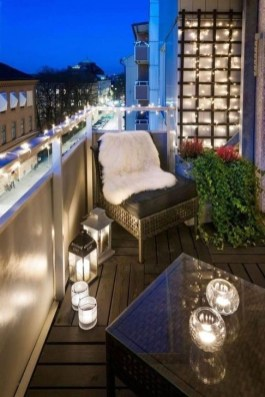 Awesome Small Balcony Ideas To Make Your Apartment Look Great 50
