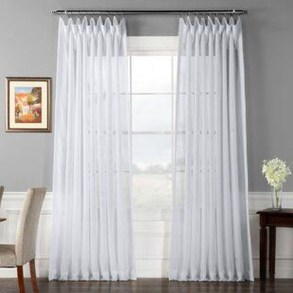 Beautiful White Curtains For Home With Farmhouse Style 03