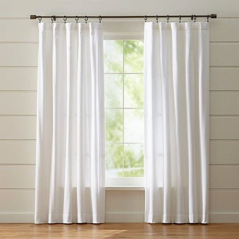 Beautiful White Curtains For Home With Farmhouse Style 10