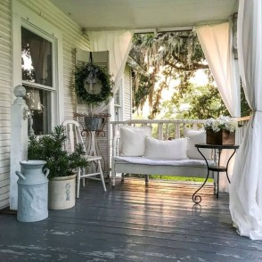 Beautiful White Curtains For Home With Farmhouse Style 27