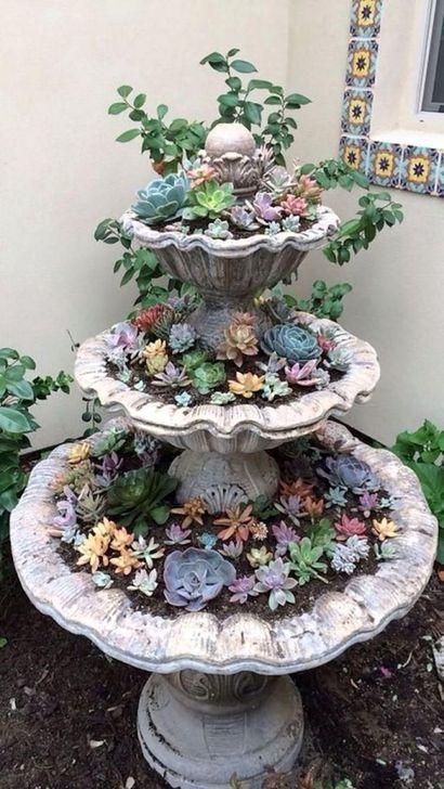 Best Ideas For Garden Succulent Landscaping 31