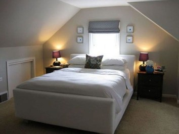 Comfy Attic Bedroom Design And Decoration Ideas 04