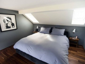 Comfy Attic Bedroom Design And Decoration Ideas 15